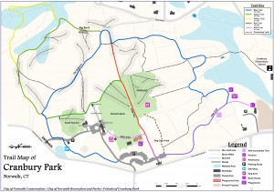 Cranbury Trail Map